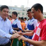 Hơn 250 vận động viên tham gia Hội thao CNVCLĐ Khu vực IV