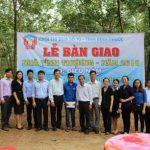 Trao nhà tình thương cho công nhân Cao su Đồng Phú