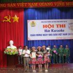 """Trường CĐ CN Cao su: Thi hát karaoke"""" mừng ngày Nhà giáo Việt Nam"""