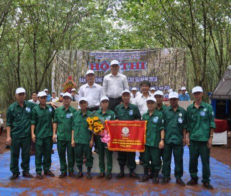 Nông trường Xà Bang xuất sắc giành giải nhất đồng đội