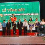 Cao su Phú Riềng nhất cá nhân và đồng đội Hội thi Bàn tay vàng năm 2018