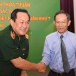 Đẩy mạnh hợp tác toàn diện giữa VRG và Quân khu 7