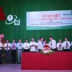 Cao su Đồng Phú ký kết hợp tác với Vietcombank