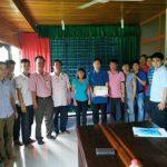 Cao su Phước Hòa: Động viên người lao động tại dự án Campuchia