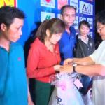 KCN Nam Tân Uyên trao 420 phần quà cho công nhân xa quê