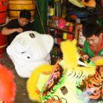 Nghề làm lân sư rồng giữa Sài Gòn
