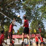 Công đoàn Cao su Dầu Tiếng tổ chức giải bóng chuyền tứ hùng