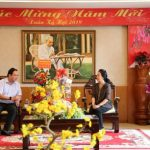 Lãnh đạo VRG chúc Tết tỉnh Kiên Giang