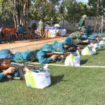 Công ty 75 tổ chức huấn luyện dân quân tự vệ đợt 1