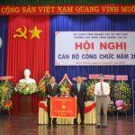 Trường Cao đẳng CNCS nhận Cờ thi đua xuất sắc của VRG