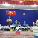 Hơn 250 CNLĐ Cao su Tân Biên hiến máu tình nguyện