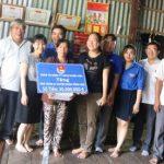 Đoàn Thanh niên Cao su Phước Hòa tặng 2 Nhà nhân ái tại Đồng Tháp