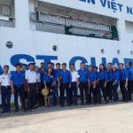 Đoàn Thanh niên Cao su Bà Rịa giao lưu với Bộ tư lệnh Vùng Cảnh sát biển 3