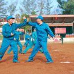 VRG bế mạc lớp huấn luyện võ thuật cho lực lượng tự vệ