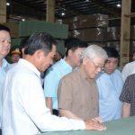 Tổng Bí thư, Chủ tịch nước thăm và làm việc tại Công ty CP Gỗ MDF VRG Kiên Giang