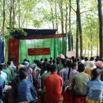 Hơn 210 công nhân được đào tạo khai thác mủ
