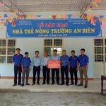 Khánh thành nhà giữ trẻ ở Nông trường An Biên