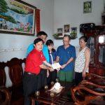 Hội Chữ Thập đỏ Cao su Đồng Nai chia sẻ với các trường hợp khó khăn