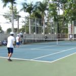 Sôi nổi giải quần vợt Cúp Truyền hình Quốc phòng
