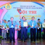 Cao su Phú Riềng sôi nổi Hội thi Chủ tịch Công đoàn cơ sở giỏi