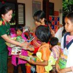 Công ty 75: Hỗ trợ gần 14 tấn gạo cho bà con nghèo