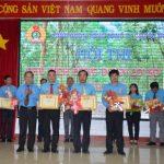Anh Trịnh Huỳnh Khánh Dũ giải nhất Chủ tịch Công đoàn giỏi Cao su Đồng Nai