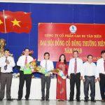 Cao su Tân Biên: Chia cổ tức 12%