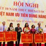 VRG thực hiện tốt cuộc vận động ưu tiên dùng hàng Việt