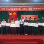 Cao su Mang Yang khen thưởng 7 tập thể, 35 cá nhân vượt kế hoạch tháng 5