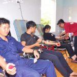 Công ty 75: Hơn 300 lượt người hiến máu tình nguyện đợt 2