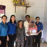 Đoàn Thanh niên Cao su Đồng Nai thăm, tặng quà gia đình thương binh liệt sĩ