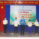Cao su Bà Rịa: Tuyên dương 143 con ngoan trò giỏi và trao học bổng Nguyễn Đức Cảnh