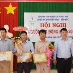 Lương bình quân người lao động VRG - Bảo Lộc đạt 21 triệu đồng