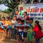 ĐTN Cao su Lộc Ninh ra quân tình nguyện Kỳ nghỉ hồng