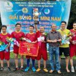 Cao su Chư Păh: Tổ chức giải bóng đá mini mừng Quốc khánh 2.9