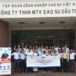 15 học viên Cao su Dầu Tiếng tham dự khóa đào tạo TWI
