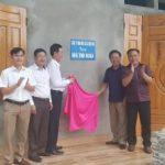 Cao su Kon Tum hỗ trợ xây 2 nhà tình nghĩa cho Cao su Hà Giang