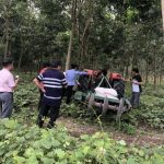 Áp dụng cơ giới hóa trên vườn cây Cao su Tân Biên