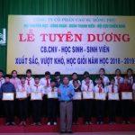 Cao su Đồng Phú: Tuyên dương 188 CBCNV, học sinh, sinh viên xuất sắc
