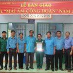 Trao 3 nhà Mái ấm Công đoàn cho công nhân Cao su Bình Long