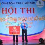 Hoạt động ý nghĩa chào mừng 90 năm thành lập CĐ Việt Nam và 90 năm truyền thống ngành cao su