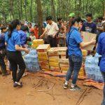 Cứu trợ sau lũ tại Lào