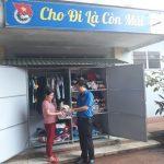 Đoàn Thanh niên Cao su Bình Long ra mắt Tủ đồ từ thiện