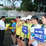 Cao su Mang Yang: Hơn 100 nữ VĐV tham gia giải bóng chuyền