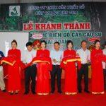 Khánh thành nhà máy gỗ cao su tại Kon Tum