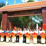 Khánh thành Công trình tôn tạo Khu di tích lịch sử Phú Riềng Đỏ