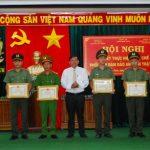 Cao su Chư Mom Ray và Sa Thầy sơ kết 4 năm thực hiện quy chế phối hợp với công an tỉnh