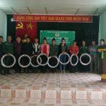 Công đoàn CSVN tặng quà cho CNLĐ Cao su Sơn La