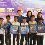 Đoàn Thanh niên Cơ quan VRG tình nguyện tại Campuchia