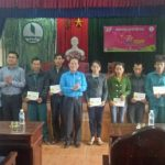 Tặng 64 phần quà Tết cho công nhân Cao su Hương Khê-Hà Tĩnh